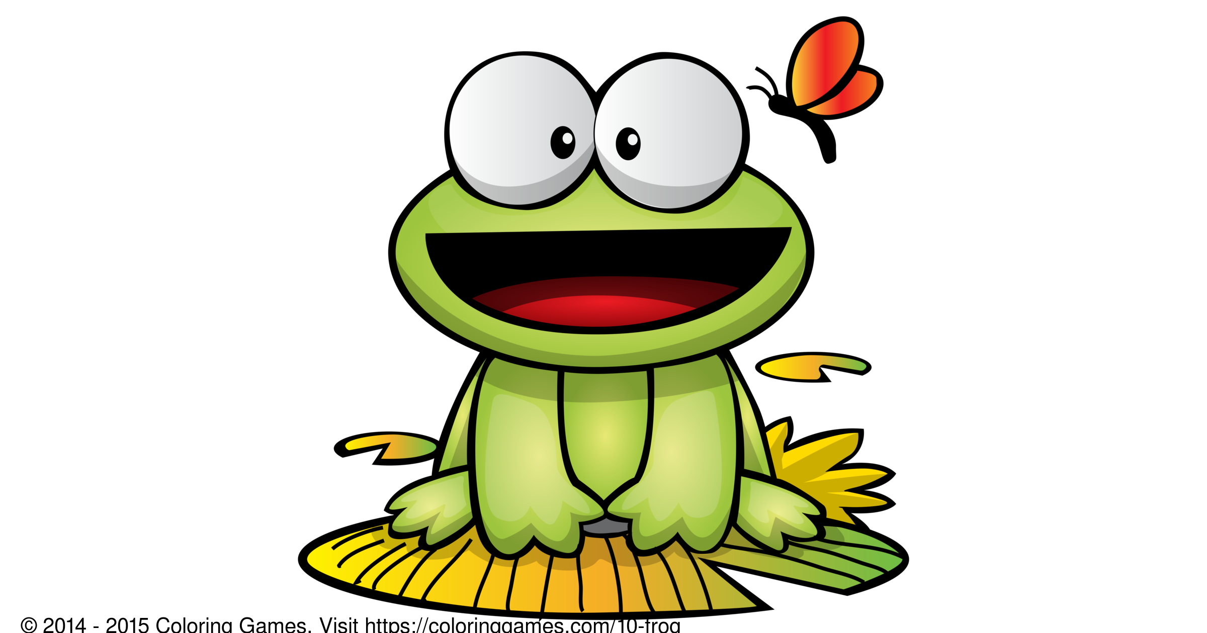 Frog - Coloring Games and Coloring Pages