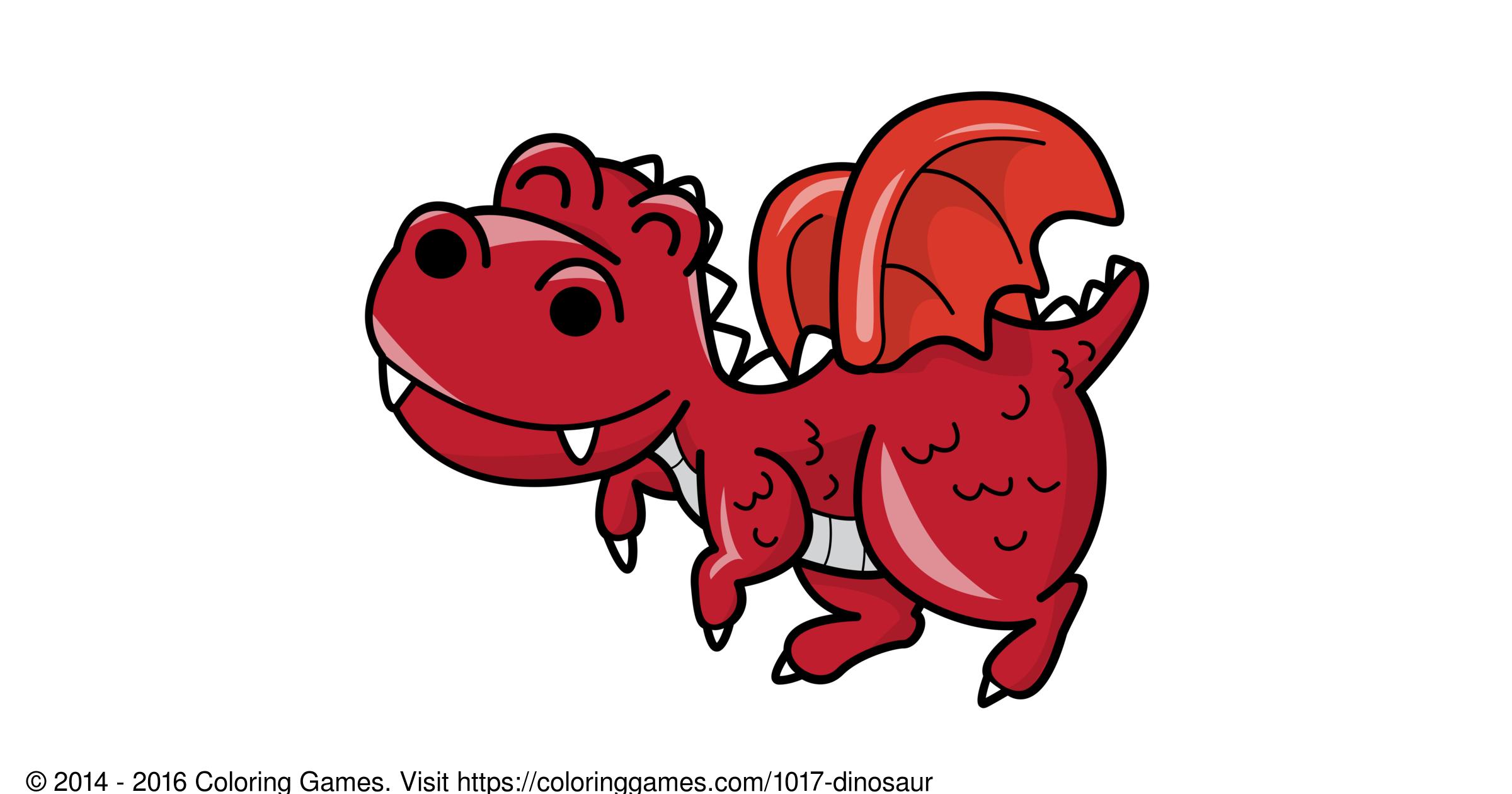 Dinozor Boyama Oyunları Ve Boyama Sayfaları