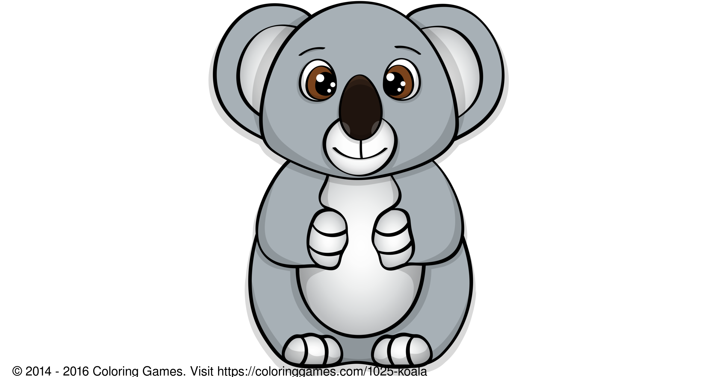 Koala Boyama Oyunlari Ve Boyama Sayfalari