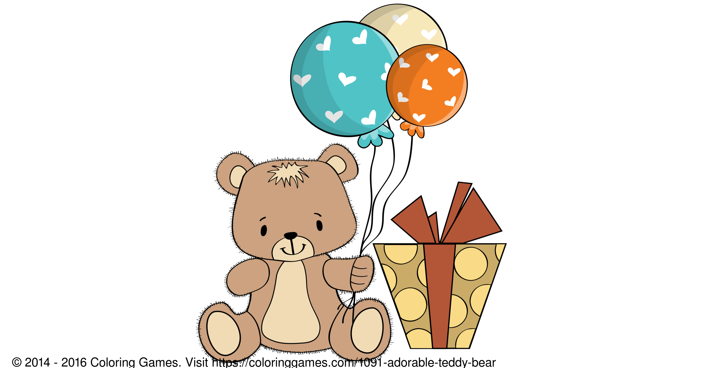 adorable teddy bear coloring games and coloring pages