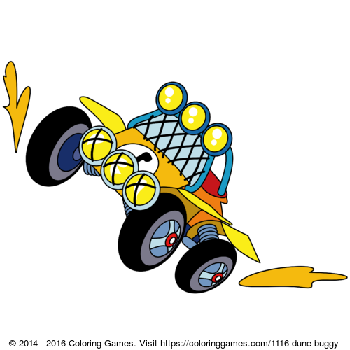 - Dune Buggy - Coloring Games And Coloring Pages