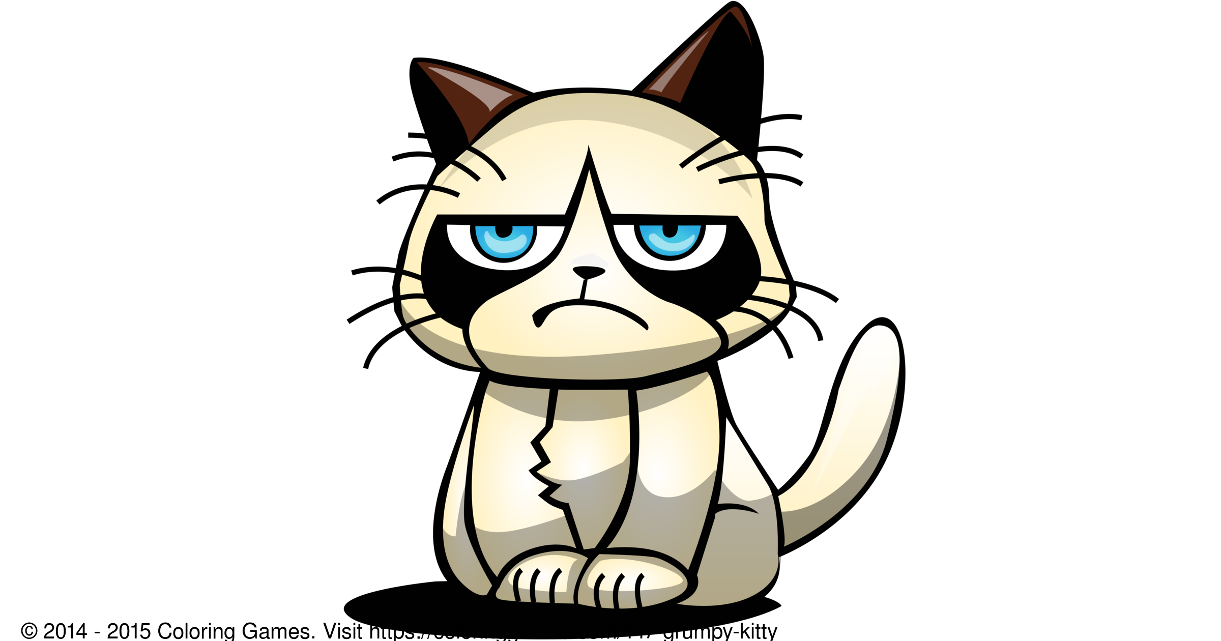 grumpy kitty coloring games and coloring pages