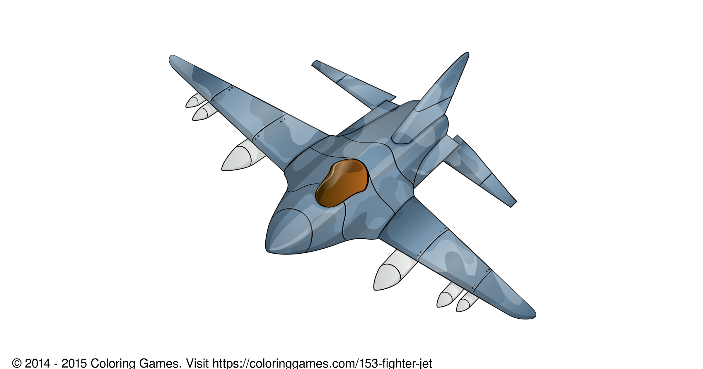 Fighter Jet Coloring Games And Coloring Pages