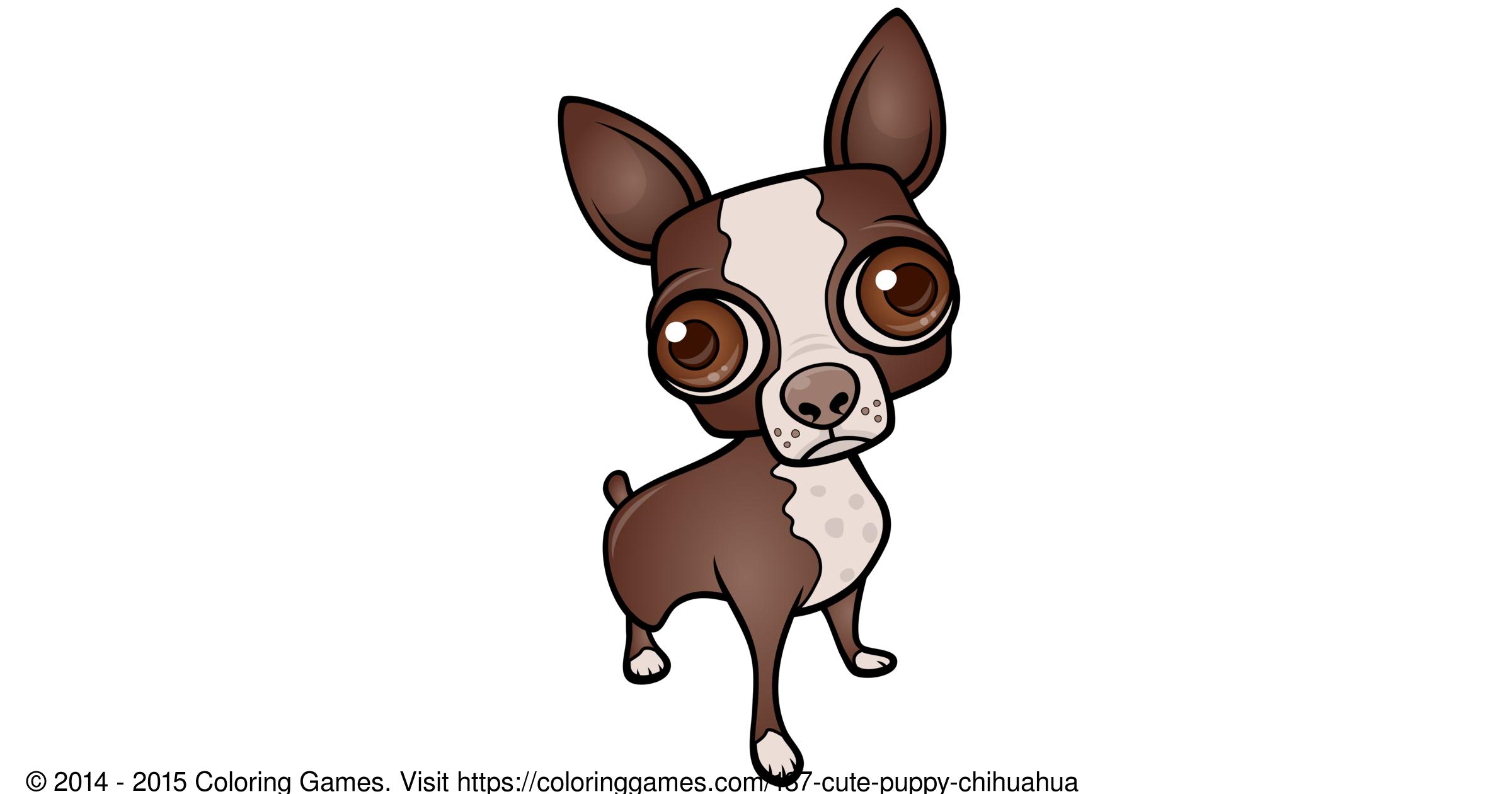 Cute puppy - Juegos para colorear & Dibujos para colorear