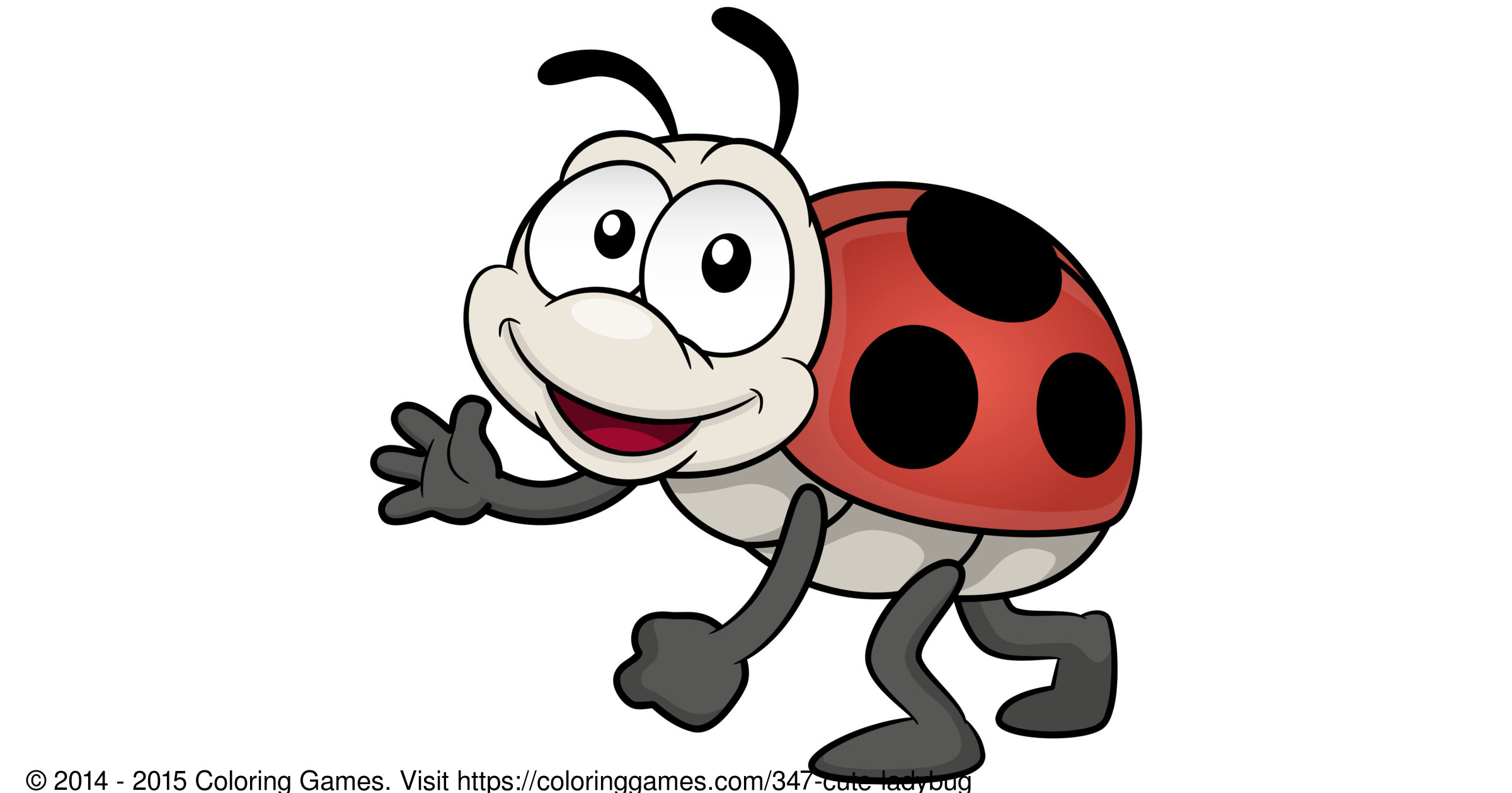 Cute ladybug coloring games and coloring pages for Cute ladybug coloring pages