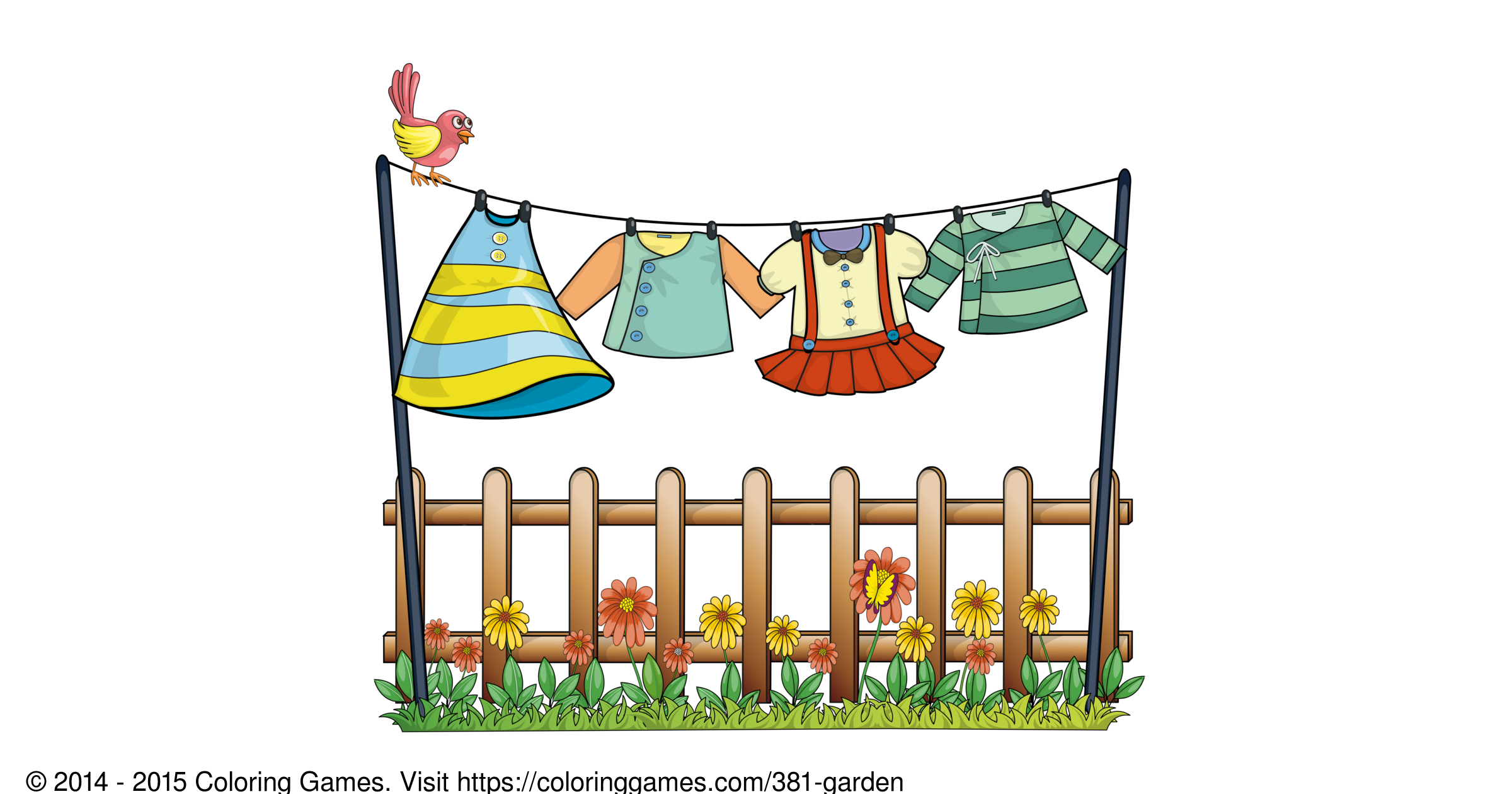 garden coloring pages games online - photo#2