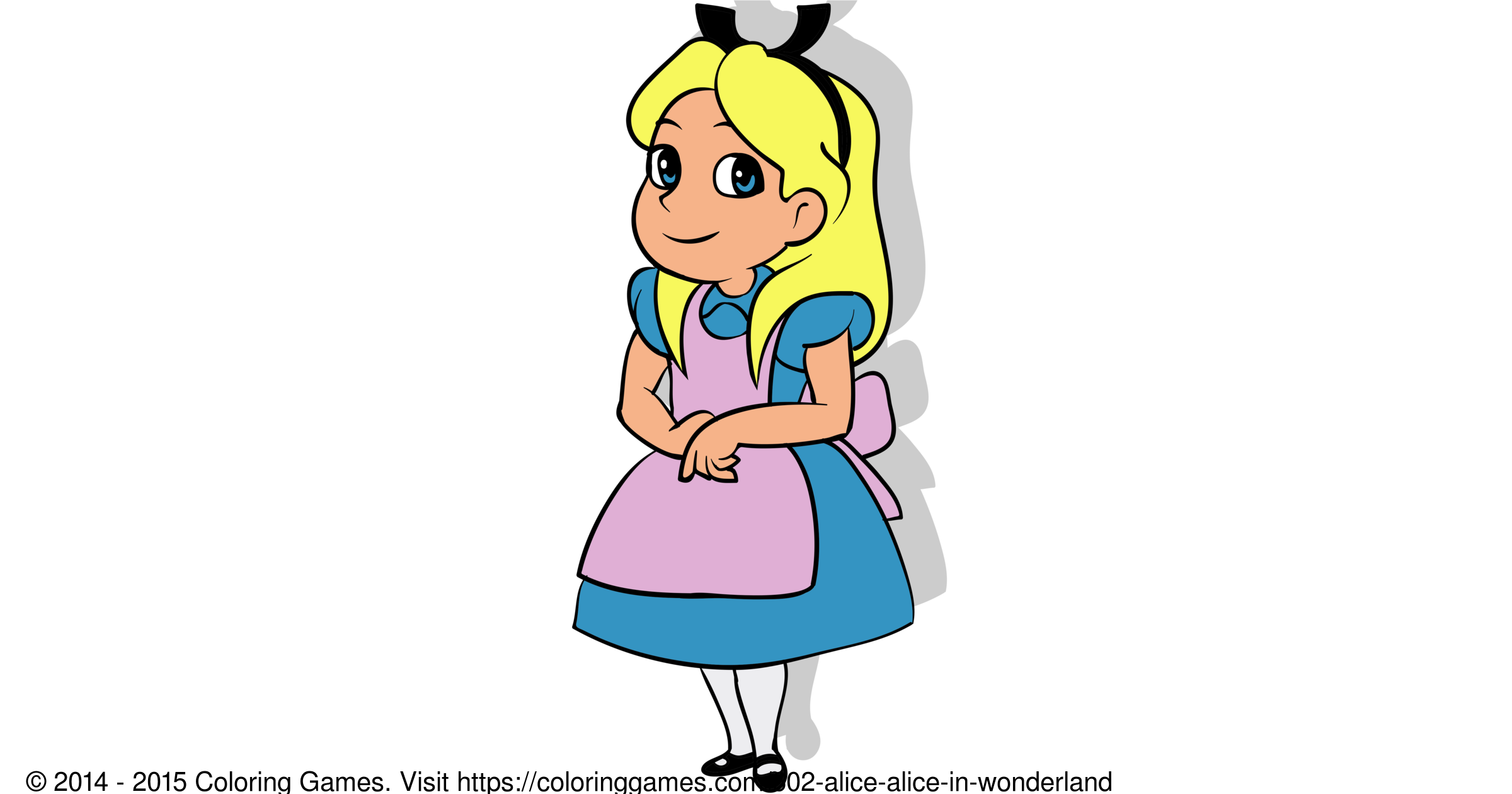 alice alice in wonderland coloring games and coloring pages