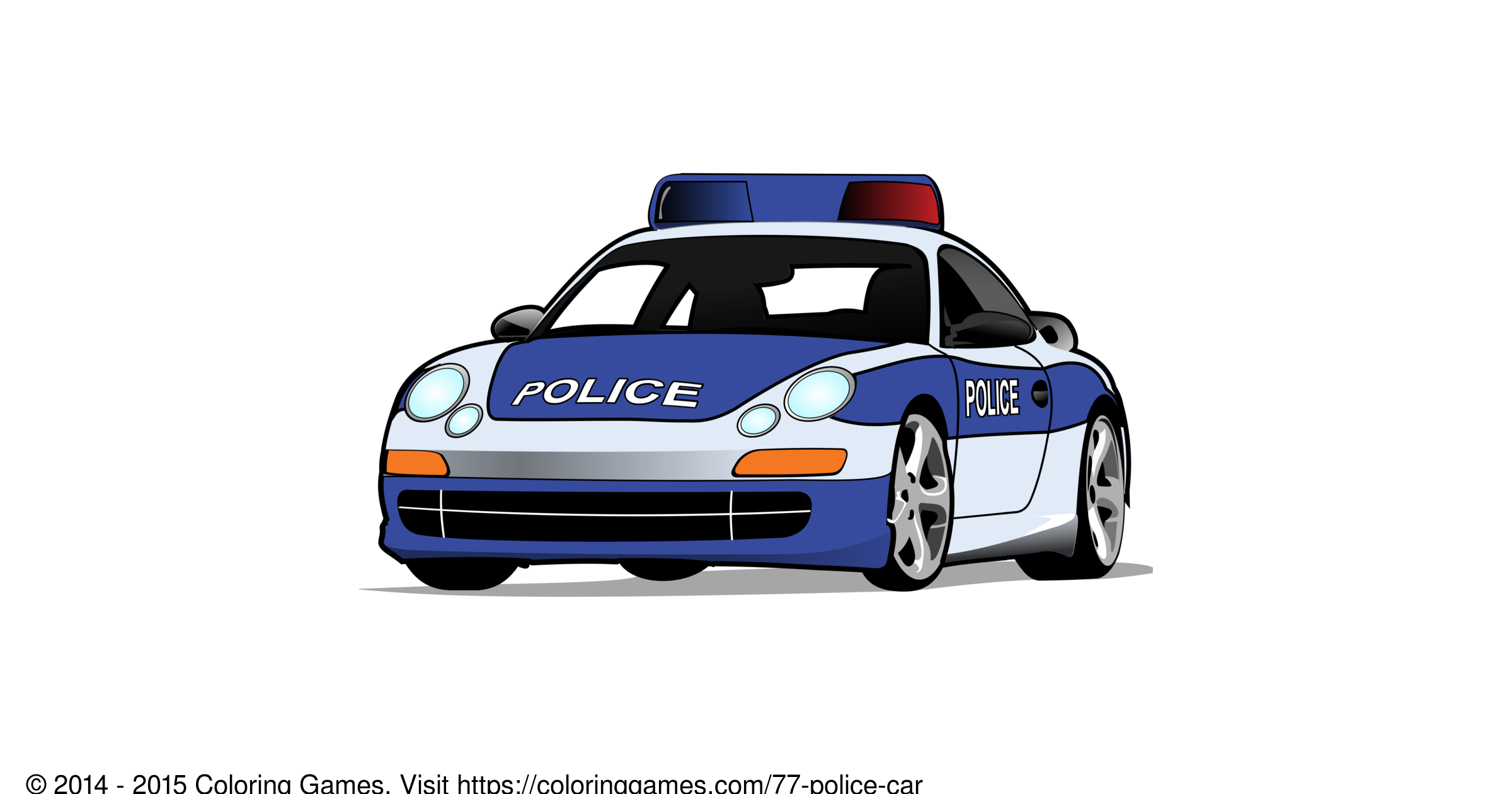 police car coloring games and coloring pages. Black Bedroom Furniture Sets. Home Design Ideas